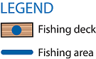 Fishing Map Legend