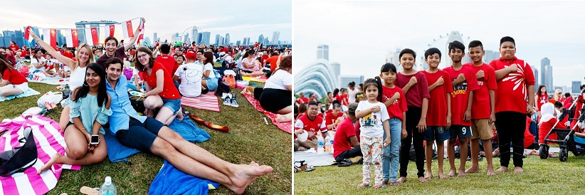 National Day at Marina Barrage