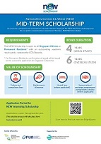 NEW Mid-Term Scholarship