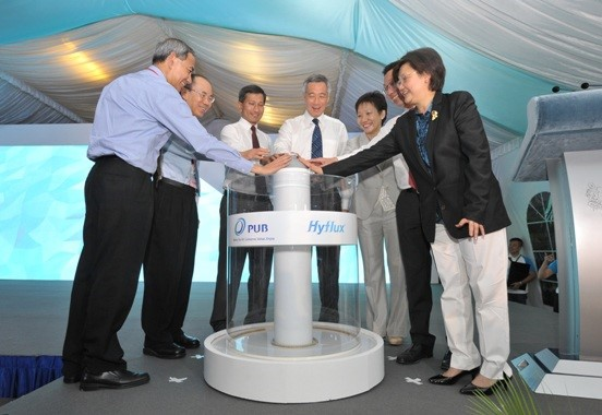 PM Lee at Tuas Spring Desalination Plant Opening
