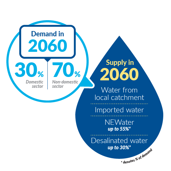 Water Demand Supply in 2060