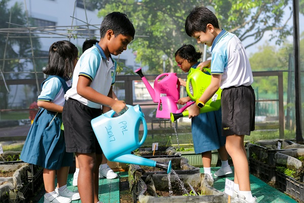 Water conservation habits being practised by students of Tampines North Pri Sch