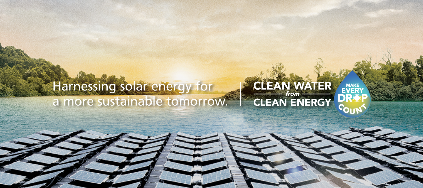 Harnessing Sunlight to produce Clean Water from Clean Energy
