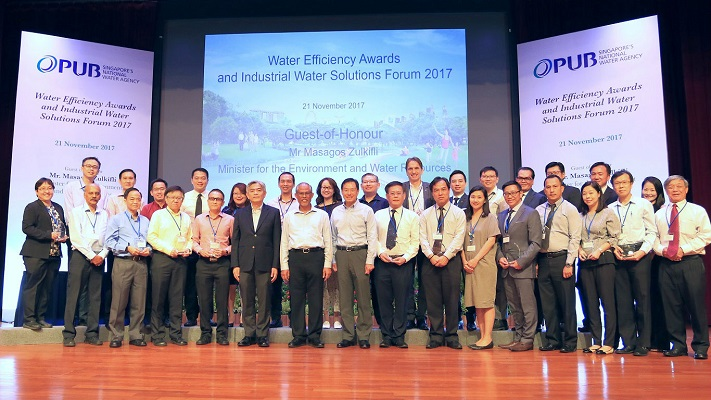 Water Efficiency Awards 2017 Recipients