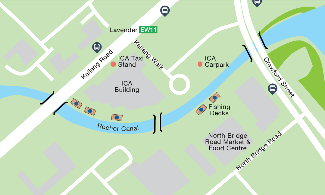 Rochor Canal Map