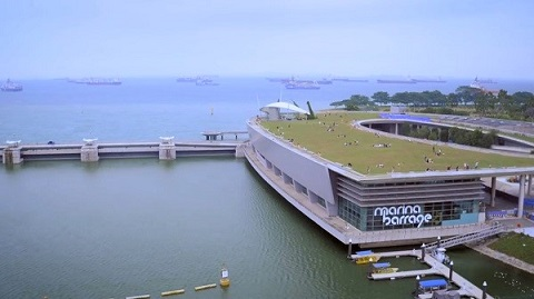 Marina Barrage datingonline dating ei päällystys pigmenttien